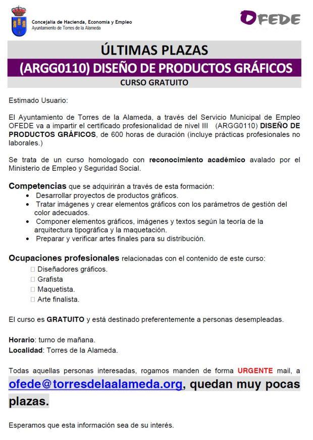 NOTA CURSO DISEÑO PRODUCTOS GRÁFICOS 29032017