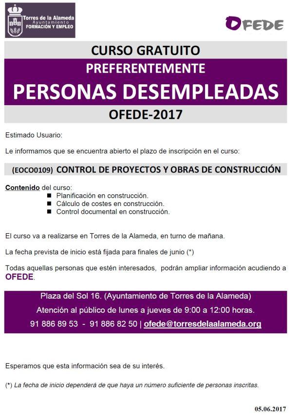 curso gratuito control de proyectos y obras de