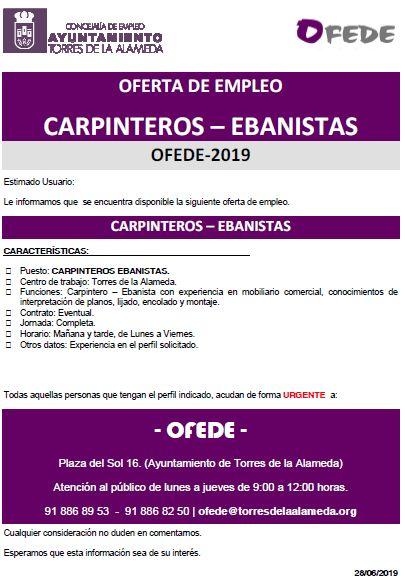 NOTA CARPINTEROS - EBANISTAS 28062019