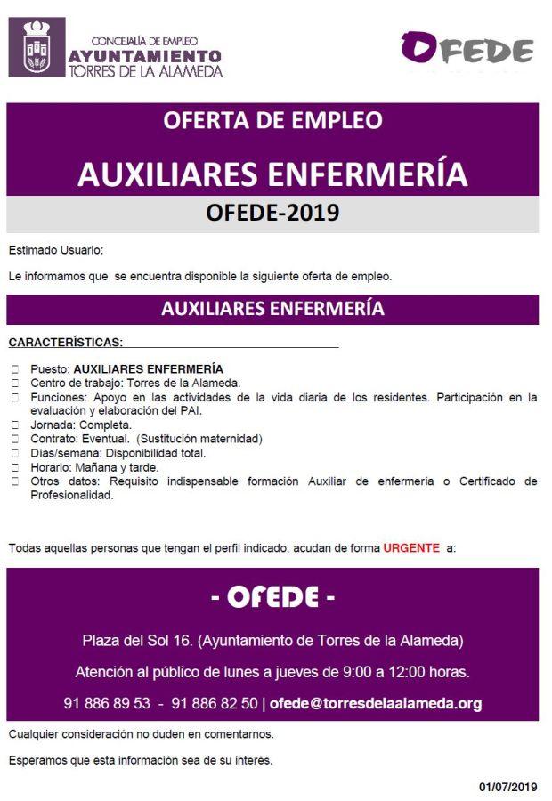 NOTA AUXILIARES ENFERMERIA 01072019