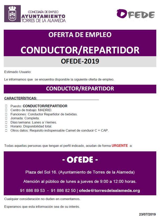 NOTA CONDUCTOR REPARTIDOR
